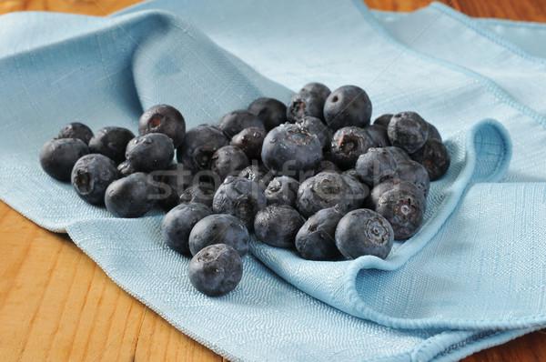Freshly washed blueberries Stock photo © MSPhotographic