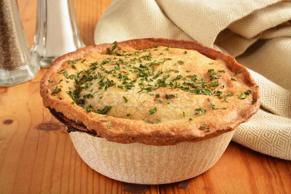 Gourmet pot pie Stock photo © MSPhotographic