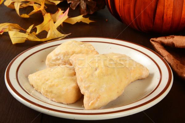 Pumpkin scones Stock photo © MSPhotographic