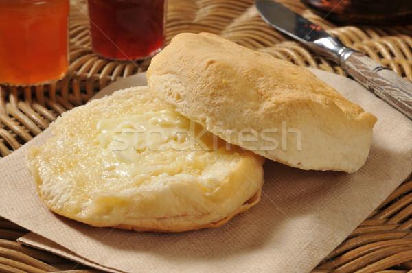 Hot golden biscuit Stock photo © MSPhotographic