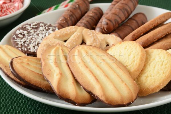 グルメ クリスマス クッキー チョコレート キャンディ ストックフォト © MSPhotographic