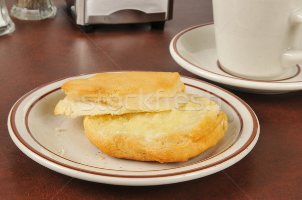 Fresh buttered biscuit Stock photo © MSPhotographic
