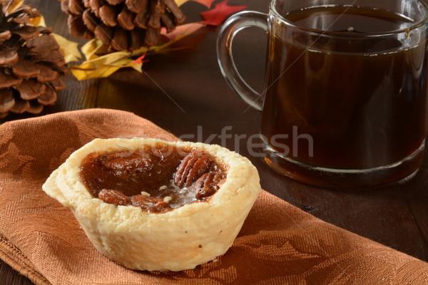 Mini pecan pies Stock photo © MSPhotographic