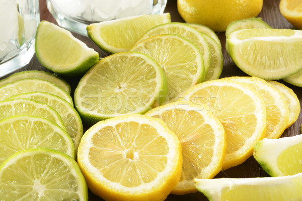 Lemons and limes Stock photo © MSPhotographic