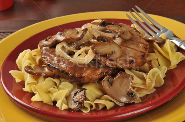 Salisbury steak  Stock photo © MSPhotographic
