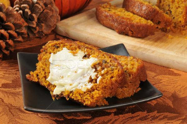 Holiday pumpkin bread Stock photo © MSPhotographic