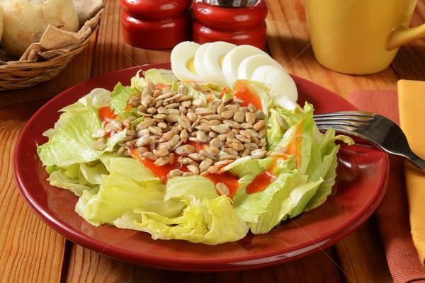 サラダ ヒマワリ 種子 卵 単純な ストックフォト © MSPhotographic