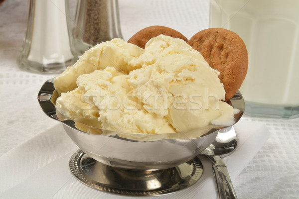 Vanilla ice cream Stock photo © MSPhotographic