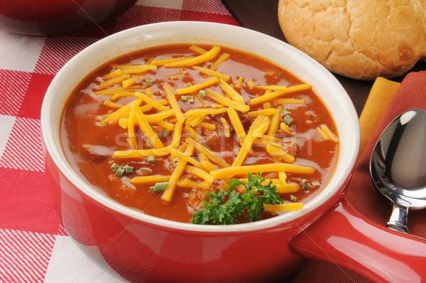Chili con carne  Stock photo © MSPhotographic