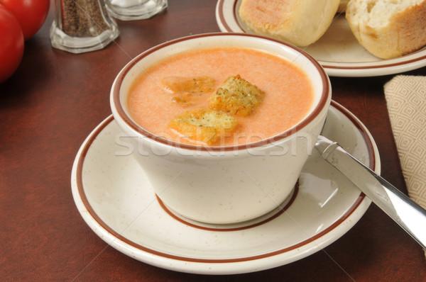 Tomato Bisque Stock photo © MSPhotographic