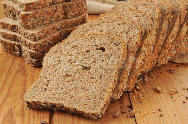 Sprouted grain and seed bread Stock photo © MSPhotographic