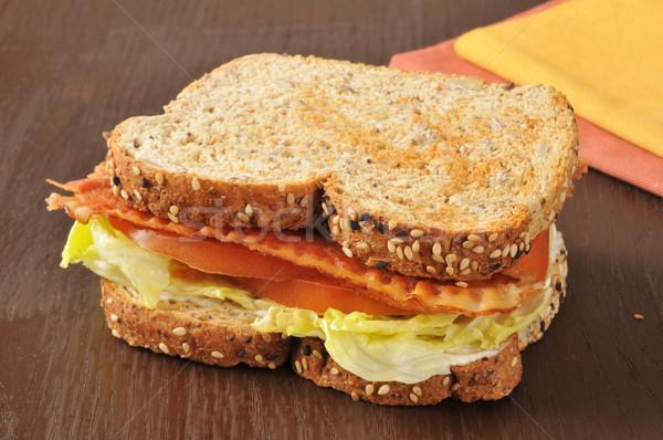 BLT Sandwich Stock photo © MSPhotographic