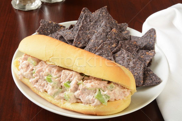 Tuna sandwich Stock photo © MSPhotographic