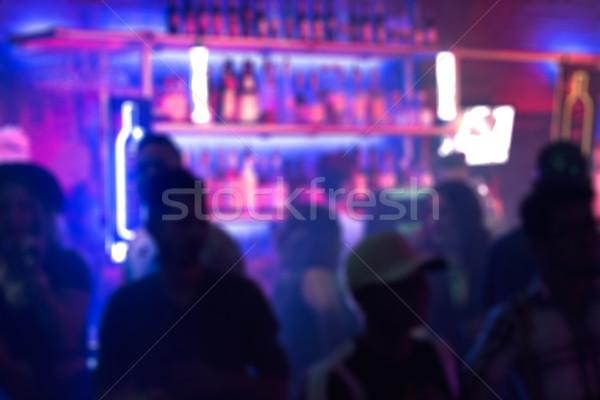 Nightclub blur Stock photo © MSPhotographic