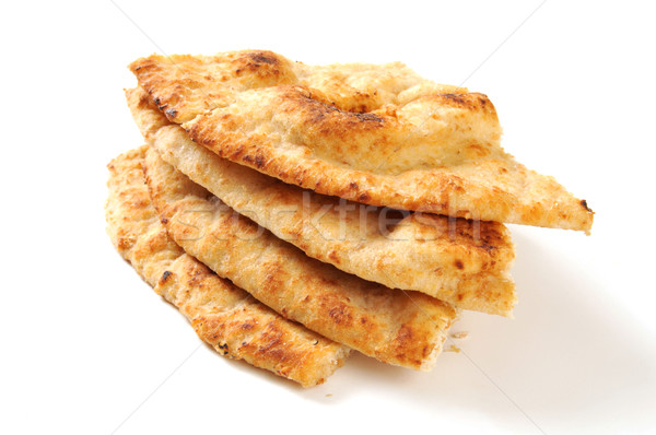 Naan bread wedges Stock photo © MSPhotographic