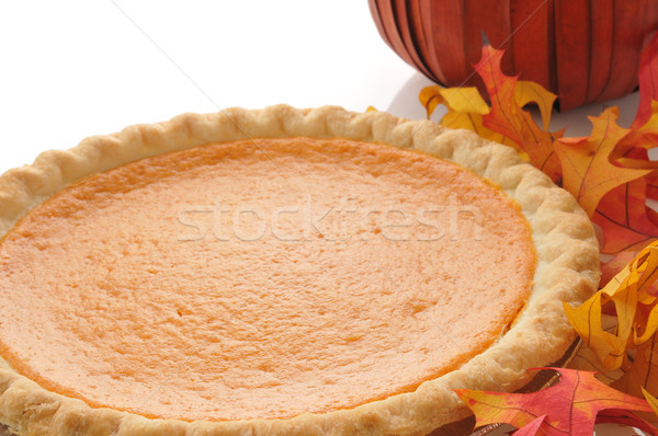 Pumpkin pie Stock photo © MSPhotographic