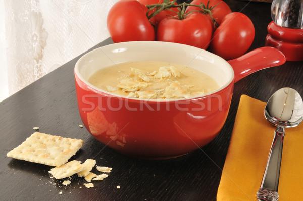 Foto d'archivio: Broccoli · formaggio · ciotola · patate · zuppa · pasto
