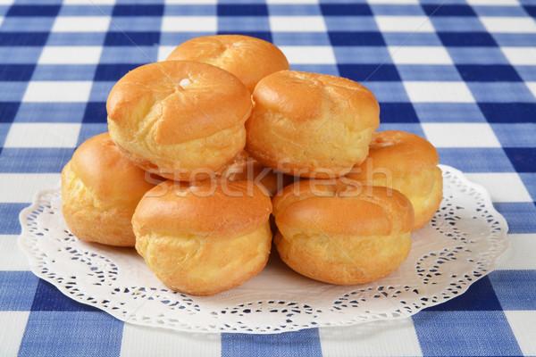 Cream puffs Stock photo © MSPhotographic
