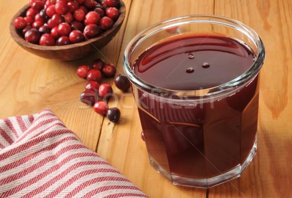 Cranberry juice Stock photo © MSPhotographic