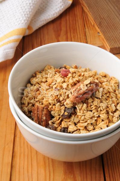 Healthy natural granola Stock photo © MSPhotographic