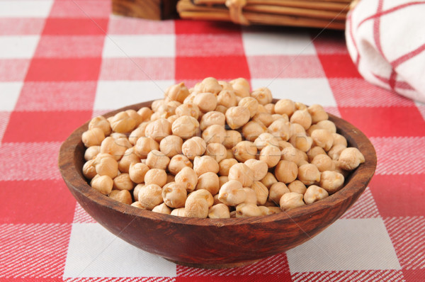 Stock photo: Garbanzo beans
