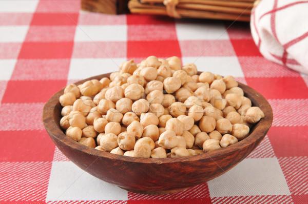 Garbanzo beans Stock photo © MSPhotographic