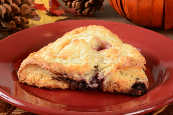 Cherry chocoloate chip turnovers Stock photo © MSPhotographic