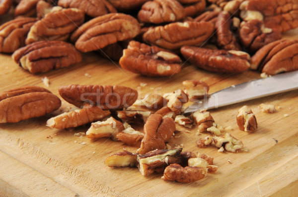 Chopped walnuts Stock photo © MSPhotographic