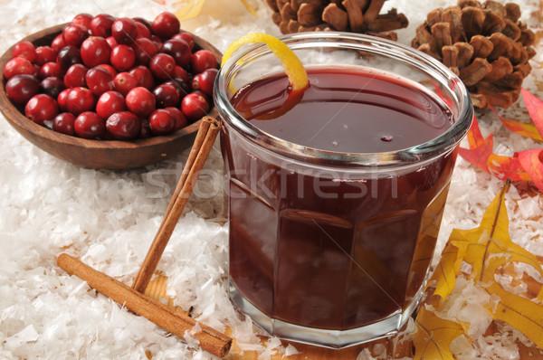Mulled cranberry juice Stock photo © MSPhotographic