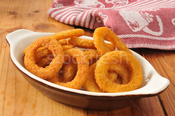 Onion rings Stock photo © MSPhotographic