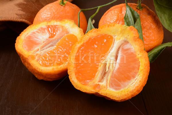 Sumo laranjas doce laranja atravessar Foto stock © MSPhotographic