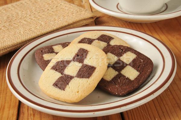 Gourmet shortbread cookies Stock photo © MSPhotographic