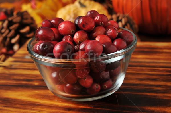 Fresh cranberries Stock photo © MSPhotographic