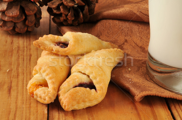 Fruit filled pastry wraps Stock photo © MSPhotographic