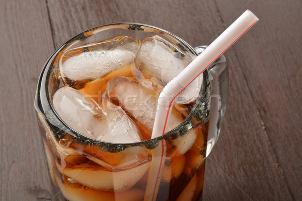 Napój bezalkoholowy korzeń piwa cola kubek Zdjęcia stock © MSPhotographic