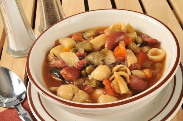 Minestrone Soup Stock photo © MSPhotographic