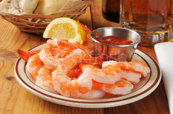 Shrimp prawns Stock photo © MSPhotographic
