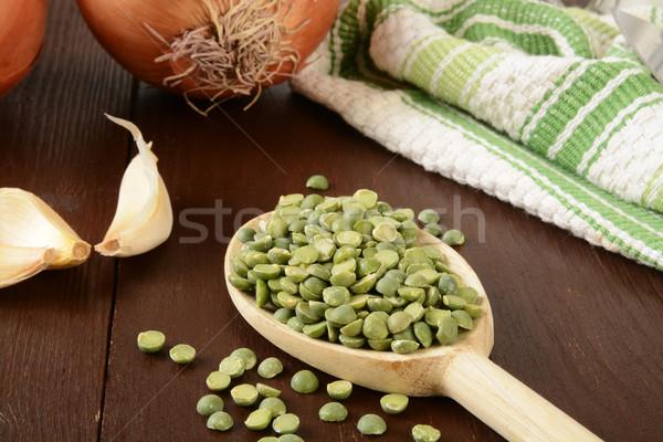 Pea soup ingredients Stock photo © MSPhotographic