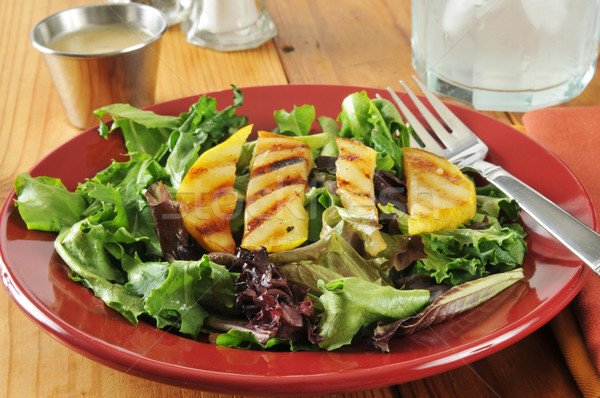 Salad with grilled pears Stock photo © MSPhotographic
