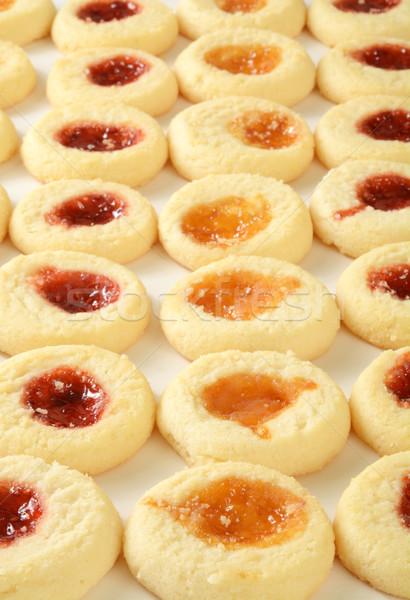 Jam filled shortbread cookies Stock photo © MSPhotographic