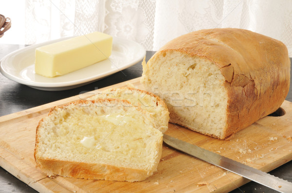 Hot buttered bread Stock photo © MSPhotographic