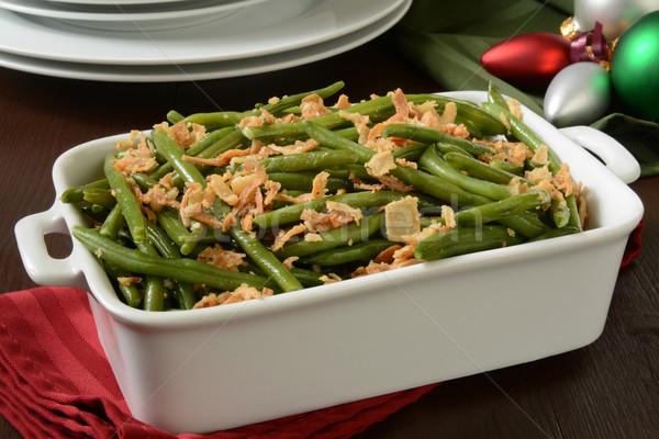 Green bean casserole Stock photo © MSPhotographic