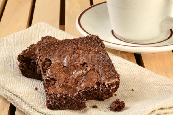 Brownies Stock photo © MSPhotographic