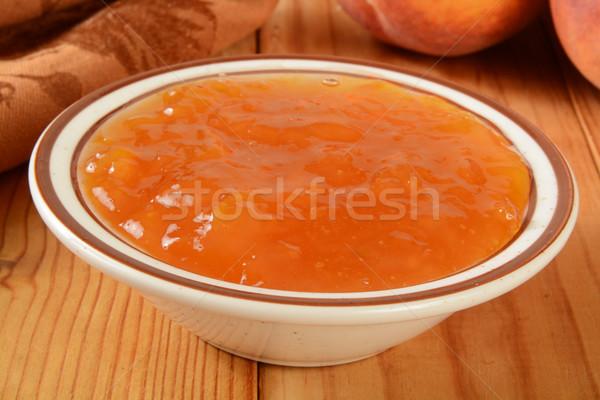 Peach Jam Stock photo © MSPhotographic