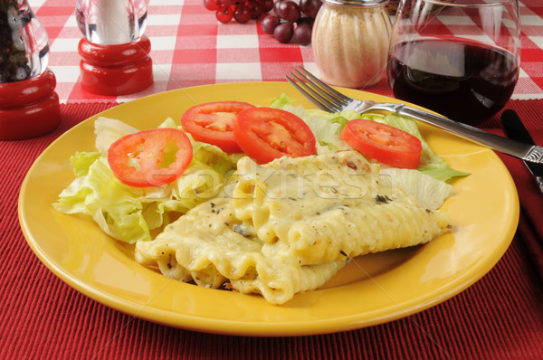 Pasta dinner Stock photo © MSPhotographic