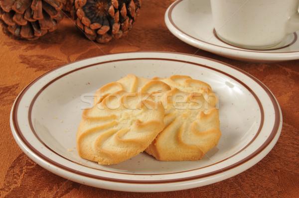 Shortbread cookies Stock photo © MSPhotographic