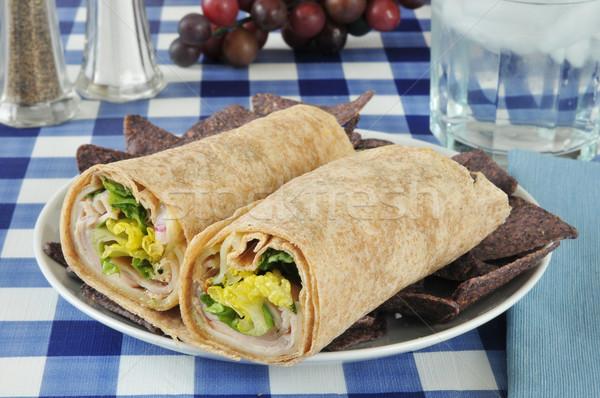 Wrap sandwich Stock photo © MSPhotographic