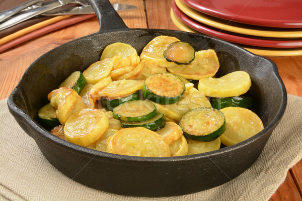 Sauteed squash Stock photo © MSPhotographic