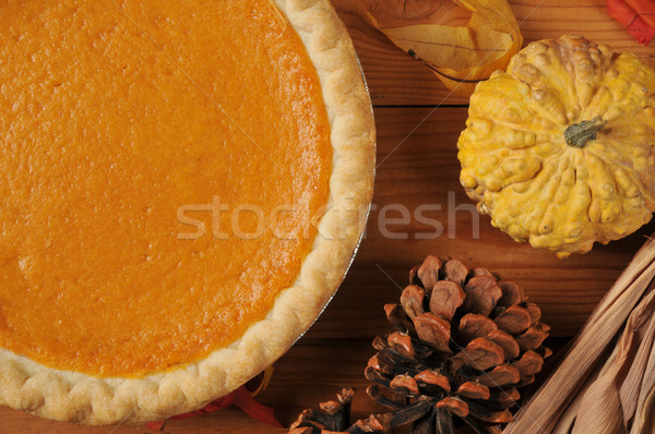 Sweet potato pie Stock photo © MSPhotographic