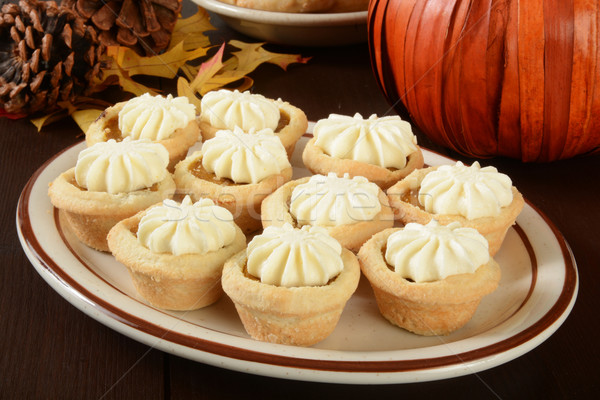 Pumpkin tarts Stock photo © MSPhotographic